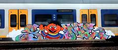 traingraffiti (wojofoto) Tags: amsterdam nederland netherland holland graffiti streetart traingraffiti treingraffiti trein train wojofoto wolfgangjosten same nsa