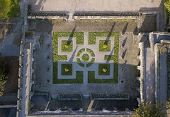 #189 Garden (Timster1973 - thanks for the 16 million views!) Tags: aerial aerialphotography fly mavic drone uav quadcopter dji mavicprodrone djimavicpro up uphigh droneflying tim knifton timster1973 timknifton explore exploration perspective lookdown lookingdown color colour garden pattern patterns botanical nature natural walled wales welsh