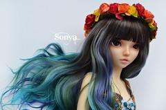 DSC_2111 (sonya_wig) Tags: fairytreewigs wig bjdwig minifeewig bjd bjdminifee minifeechloe handmadedoll bjddoll dollphoto fairyland fairylandminifee minifee chloe bjdphotographycoloringhair