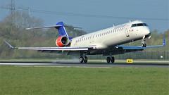 EI-FPJ (AnDyMHoLdEn) Tags: sas scandinavian staralliance bombardier crj900 egcc airport manchester manchesterairport 05r