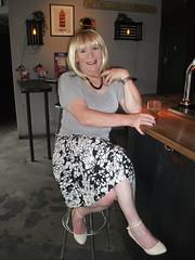Girl At The Bar (rachel cole 121) Tags: tv transvestite transgendered tgirl crossdresser cd gender fluid