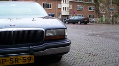 Buick Park Avenue / Citroën XM 2.0i (Skylark92) Tags: nederland netherlands holland utrecht city stad citroën xm 20i 1992 fvfr58 onk origineel nederlands kenteken buick park avenue 38i v6 jpsr59 1994