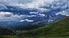 Mountains of Zakopane (BenedekM) Tags: zakopane poland nature nikond3200 mountains view darkness lights clouds cloudy