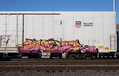 Ender (quiet-silence) Tags: graffiti graff freight fr8 train railroad railcar art ender armn reefer unionpacific armn170463