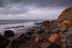 Marino Rocks Evening (Darren Schiller) Tags: marino rocks australia southaustralia adelaide sea ocean beach cliffs shore coast evening clouds waves
