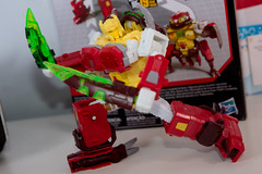 DSC_9320 (Quantum Stalker) Tags: hasbro amazon exclusive transformers titans return power primes repugnus monsterbots g1 awkward bug ugly dull toy action figure sled master homage