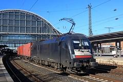 ES-64-U2-007  in Bremen 15-02-2019 (roestkrabber_hz) Tags: es64u2007 es64 taurus lokomotive lok train trein zug rails railroad spoor