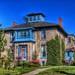 Picton Ontario - Canada  - Heritage House -  Italianate architecture
