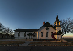 Vineland United Methodist (Tom Herlyck) Tags: amazing america awesome a7rii beautiful blue colorado camera digital day easterncolorado exposure evening elements flickr farm goldenlight goldenhour highplains history image idyllic interesting jazzed joyful killer light lightroom natural old outdoors outside pueblocounty prairie sky sunset southeastcolorado southeasterncolorado southerncolorado trees usa vineland vinelandunitedmethodistchurch church