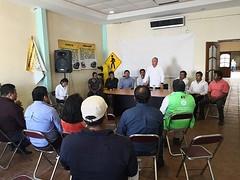 Toma protesta nuestro coordinador Heliodoro_hcde al Consejo Municipal de ProtecciónCivil que encabeza el presidente, Cástulo Bretón Mendoza, cumpliendo de esta manera con la Ley de Protección Civil y Gestión Integral de Ri