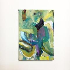 Bend (Mayumi Ishida) Tags: art abstract acrylicpainting artwork gallery exhibition contemporaryart