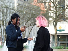 Manchester (1072) (benmet47) Tags: street city urban girls women candid