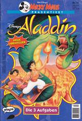 Micky Maus präsentiert #17 (micky the pixel) Tags: comics comic heft waltdisney ehapaverlag mickymauspräsentiert aladdin jasmin drache dragon magiccarpet