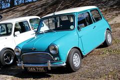 1967 Morris Cooper Mini OAN719E Brooklands Mini Day March 2019 (davidseall) Tags: mini car old shape style classic original brooklands day march 2019 weybridge surrey uk 1967 morris cooper oan719e oan 719e