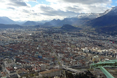 Grenoble . France (ericmad) Tags: bastille grenoble 2014 divers