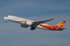 Hong Kong Airlines A350-941 (B-LGE) LAX Takeoff 1 (hsckcwong) Tags: hongkongairlines a350941 a350900 a350 airbusa350 blge lax klax