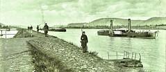 American watch on the Rhine, Rainbow Div., Neider, Briesig, Germany 12-19-18 NARA111-SC-38573-ac (SSAVE over 13 MILLION views THX) Tags: germany americanoccupation ww1 worldwari 1918 rhineriver riverboat sidewheelpaddlesteamer steamboat