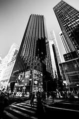 New YorkBW0623 (schulzharri) Tags: new york black white schwarz weis usa amerika america travel reise skyscraper wolkenkratzer hochhaus