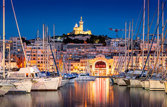 _DSC0986 -  Théâtre National de Marseille (AlexDROP) Tags: 2018 europe marseille france art travel skyline architecture cathedral church color cityscape bluehour nikond750 afsnikkor28300mmf3556gedvr best iconic famous mustsee picturesque postcard hdr