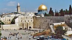Israel Jerusalem 1994 (hytam2) Tags: israel jerusalem 1994 thedomeoftherock templemount wailingwall oldtemple