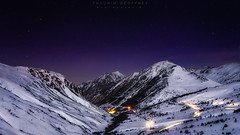 Night (Thaurin Geoffrey Photographie) Tags: france ariege pyrénées montagne moutain ciel sky etoile start neige snow hivers nature paysage landscape sony a7ii longue exposure winters amateur love test first night nuit