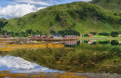 Brustranda Camping (marko.erman) Tags: norway nordland sea mountains water clouds beautiful sony scenic idyllic nature outdoor outside travel popular quiet serenity pure transparency landscape nordic steep sunny montagne ciel paysage eau lac mer reflections lofoten panorama baie océan colorful color yellow couleur jaune camping brustranda rolvsfjord
