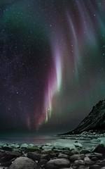 aurore_senja (emmanuelbernard1) Tags: northern light aurora borealis senja norway aurore boréale norvège stars étoiles night landscape paysage nuit