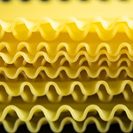 Close-up of lasagna sheets thumbnail
