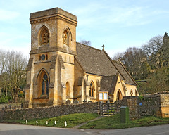 St Barnabas, Snowshill (Roger Wasley) Tags: st barnabas saint church snowshill gloucestershire cotswold victorian history architecture holy ancient