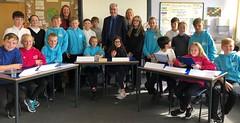 Visiting Macmerry Primary School