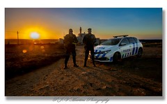 Lighthouse/Farol Cabo Raso, Sunset / Por do Sol (P.J.V Martins Photography) Tags: sunset pds dusk landscape seascape coast lighthouse police polícia car carro vehicle cascais sintra portugal