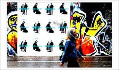 Une séparation.... (mamasuco) Tags: nikon d7000 paris affiches graffitis streetart