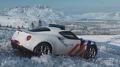 Forza Horizon 4 Alfa Romeo 4C Politie (crash71100) Tags: forza horizon 4