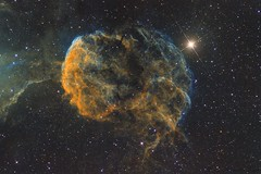 The Jellyfish Nebula (IC443) SHO (lexpics.de) Tags: asi183mmpro zwo astrofotografie astronomie astronomy universe universum weltall deepsky nebel schmalband narrowband sho thejellyfishnebula ic443 quallennebel