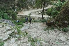 20150314_153053- on1 (douglasjarvis995) Tags: walkers camera galaxy steep steps trekking samsung nepal treck walk mountains