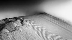 Sand and fog (Chas56) Tags: wow ngc sand fog dunes sanddunes landscape desert canon canon5dmkiii peru southamerica huacachina textures patterns monochrome blackandwhite