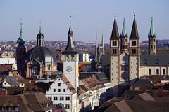 Wurzburg (Svend RS) Tags: 70200mm sel70200g zoom telephotolens telephoto sel70200m4g fe70200mmf4goss sonyilce7m3 sonya7 alpha a7m3 sonya7lll sonya7mk3 cityscape urban architecture church wurzburg