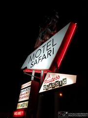 Motel Safari - Route 66 (LocalOzarkian Photography - Ozarks/ Route 66 Photo) Tags: tucumcarinewmexico tucumcaritonite newmexico tucumcari newmexicoroute66 route66 motherroad motelsafari gettingmykicks gettingmykicksonroute66