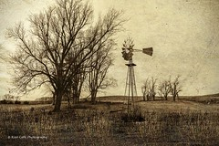 Windmill on the Farm (Kool Cats Photography over 11 Million Views) Tags: textures trees windmill prairie landscape oklahoma outdoor photography artistic art sepia