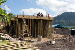 Bali (ludovic_tardy) Tags: bali indonésie asie voyage nikon d7100 objectifsigma1835 échafaudage chantier bambou maçon