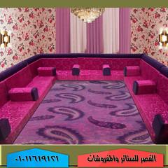 مجلس عربي قعدة عربي حديثة اسفنج عالي الكثافة اقمشة حديثة (القصر للستائر والمفروشات) Tags: قعدة عربي مجلس ركنة أنتريه مودرن ستارة حديثة