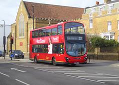 GAL WVL295 - LX59CZN - ELTHAM HIGH STREET - SAT 9TH FEB 2019 (Bexleybus) Tags: eltham high street london se9 goahead go ahead wrightbus gemini volvo b9 wvl295 lx59czn tfl route 321