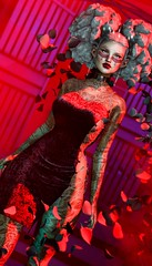 How you all would bleed for me .. (AliceInChains Arun) Tags: genus genusproject lotus cosmetize swallow suicidalunborn access level equal10 puft rama slink hourglass sl secondlife eclipse