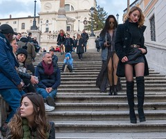 Che bambola! (What a doll!) #streetphotography #rome #italy #girl #funny #sexy #piazzadispagna #flightofsteps #streetstyle #streetlife #people #legs #italianstyle #male #female #steps #city #life #downtown #voyer (Riccio1968) Tags: streetphotography rome italy girl funny sexy piazzadispagna flightofsteps streetstyle streetlife people legs italianstyle male female steps city life downtown voyer