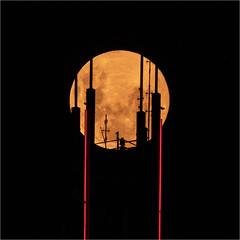 121 George St (Rodney Topor) Tags: brisbane moon moonrise astro astrophotography xf100400mmf456