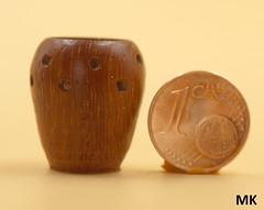 Minivase (manfredkirschey) Tags: drechseln woodworking klein mini pokal vase gefäs