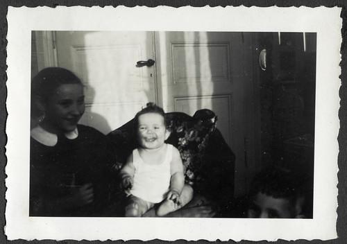 AlbumC297 Alle drei Geschwister, 1930-1950er