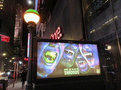 What We Do in the Shadows Billboard Poster Ad 2704 (Brechtbug) Tags: what we do shadows billboard poster ad over subway entrance american comedy horror television series fx march 27th 2019 channel starring kayvan novak matt berry natasia demetriou harvey guillen based 2014 film by jemaine clement taika waititi about three vampires who have been roommates for hundreds years ads advertisement tv show