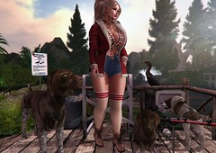 A Day at the Lake (nannja.panana) Tags: tmcreation addams belleza birth blueberry cncreations catwa cosmopolitanevent dubaievent exxess ikon letre nanika nannjapanana tlchomecollection