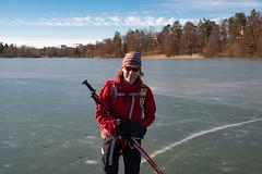 Lotta (David Thyberg) Tags: långfärdsskridsko winter nature skate sweden stockholm skating 2019 ice sverige rotebro se